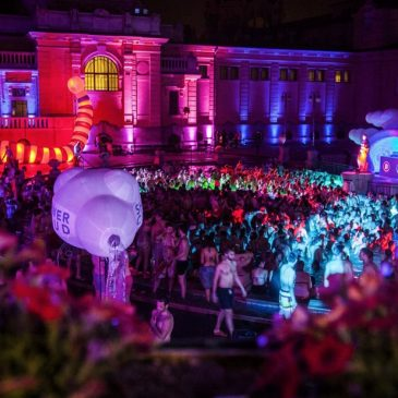 Pool Party em Budapeste : Szechenyi baths